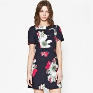 French Connection Wilderness Bloom Cutout Dress.